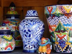 talavera- beautiful Mexican pottery