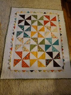 The quilt I made for Ayden (nephew)