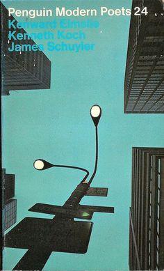 Penguin Modern Poets 24: Kenward Elmslie Kenneth Koch James Schuyler. Guest editor: John Ashbery. Penguin Books 1974 (1st printing). Cover photograph by Jean-Louis Bloch-Laine.