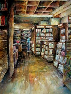 The Book Store by Diva Diva