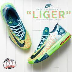 """KD VI """"LIGER""""  Release: 01-03-14  www.sneakerbaas.nl"""