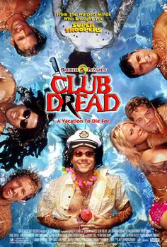 Club Dread , starring Jay Chandrasekhar, Bill Paxton, Kevin Heffernan, Elena Lyons. When a serial killer interrupts the fun at the swanky Coconut Pete's Coconut Beach Resort -- a hedonistic island paradise for swingers --- it's up to the club's staff to stop the violence ... or at least hide it! #Comedy #Horror #Thriller