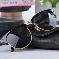 J K Black Solid Sunglasses
