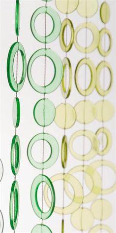 3' x 6' Foot Beaded Curtain Panels - Diamond Cut Acrylic Gemstone ...