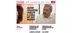 Página Web de Jaume Collboni, candidato del PSC a la alcaldía de BCN.