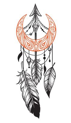 Tattoos have been and are still a big part of many to this day, and many people have one or more tattoos on their bodies. Many different cultures embrace tattoos, and they can bear many different m… Atrapasueños Tattoo, Tattoo Mond, Hand Tattoo, Sternum Tattoo, Tattoo Drawings, Mandala Tattoo Design, Dotwork Tattoo Mandala, Tattoo Designs, Tattoo Ideas