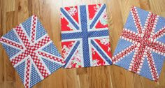 Diary of a Quilter - a quilt blog: This year's crop of Union Jack quilt blocks