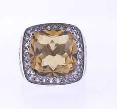Sterling Silver 925 Citrine with White Topaz Ring, Size 7   https://www.etsy.com/listing/225625282/sterling-silver-925-citrine-with-white?ref=shop_home_active_13  #jewelry # ring #silver #sterlingsilver #silverring #topaz #whitetopaz #citrine #etsystore #onlinejewelrystore #chic #glam #pretty #fashion #accessories