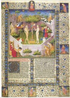 Maestro Boucicaut, Storia di Adamo ed Eva, 1415 circa, Los Angeles, The J. Paul Getty Museum