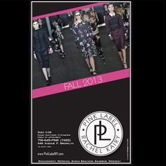 Magazine ad design for Pink Label