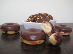 Receta Otro : Mini donuts con chocolate (panificadora) por Unangelenmicocina