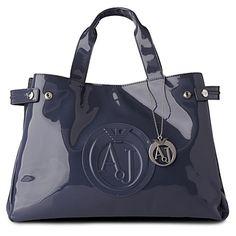 armani patent leather bag