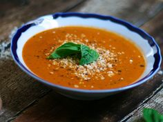 Rich and Creamy Slow Roasted Tomato Soup