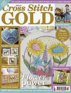 Журналы по вязанию и рукоделию: Cross Stitch Gold №113 2014