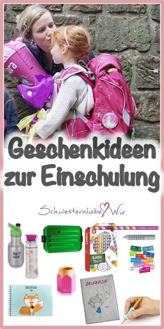 Einschulung // Sinnvolle Geschenkideen für das Schulkind Gift ideas for school enrollment – these gifts in the school bag are nice and useful and will give the schoolchild in the elementary school a lot of fun. Homemade Valentines, Valentines Day Gifts For Him, Primary School, Elementary Schools, Primary Education, School Enrollment, Presents For Kids, Valentine's Day Quotes, Valentine's Day Outfit