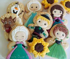 Frozen cookies …