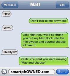 sad but kinda funny.
