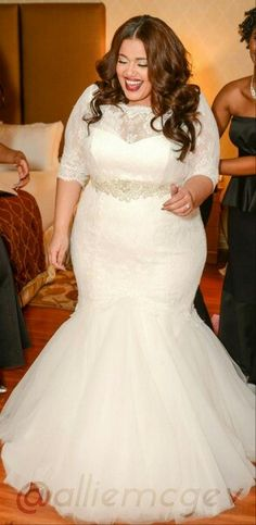Thick beautiful bride