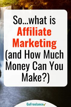 If you are looking for a great way to make money from home and build a very profitable business, then affiliate marketing may be exactly the opportunity you have been looking for. Tens of thousands of people make a full-time living from affiliate marketing all over the world. For many, it has provided the opportunity to escape the corporate grind and start a new and much better life. Read on to find out more... Business Marketing, Internet Marketing, Online Marketing, Digital Marketing, Marketing Training, Media Marketing, Home Based Business, Business Tips, Online Business