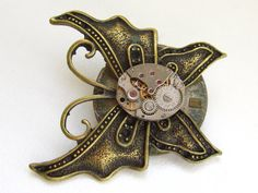 Hey, I found this really awesome Etsy listing at https://www.etsy.com/listing/128591124/steampunk-butterfly-pin-brooch-with