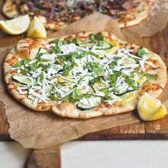 Williams-Sonoma: Zucchini & Basil Pizzas