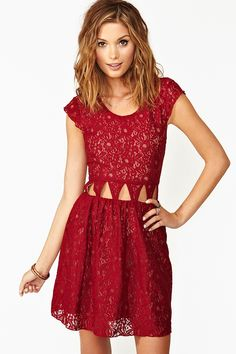 Friday Night Dress.  Nasty Gal.  Not sure if I could pull off the cut-outs, but its super cute