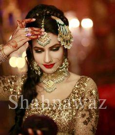 Pakistani Bride ♡ ❤ ♡ Pakistani Wedding Dress . Pakistani Style. Follow me here MrZeshan Sadiq