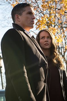 """POI:  Season 4  episode 13  """"M.I.A.""""  Reese and Root travel upstate."""