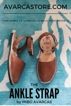 Our Ankle Strap MIBO Avarcas in Cuero is going to be a staple in your wardrobe. A timeless shade of brown chocolate goes well in any color. Wear it with your denim or shorts and get a versatile look while being stylish and comfy at the same time.These sleek ankle straps spanish leather sandals are handcrafted by MIBO, a family owned workshop in the island Menorca, Spain.