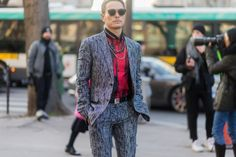 今市隆二/「ディオールオム(Dior Homme)」2017-18秋冬コレクション(写真:Getty Images)