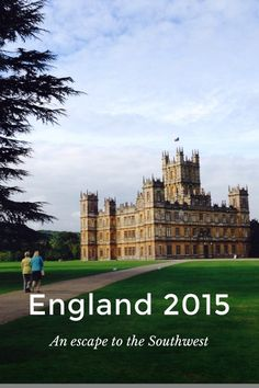 """England 2015 An escape to the Southwest Scones, raspberry jam and clotted cream at Highclere Castle, aka """"Downton Abbey"""" a sweet start to our vacation When a man is tired of London, he is tired of Life Samuel Johnson In London, we strolled through a broad"""