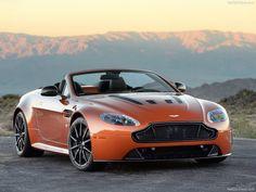 Photos officielles de l'#AstonMartin #V12 #Vantage S Roadster qui sera disponible en 2015 dans les concessions de la marque Anglaise.