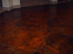 1000 images about floors on pinterest stained concrete