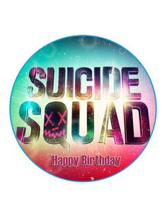Edible Cake Cupcake Topper Decoration Image Suicide by CakersWorld