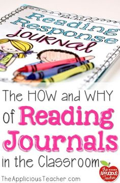 FREE ideas for how a 2nd grade teacher uses Reading Response Journals. Great student samples, too!