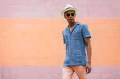 SHOP THE LOOK: Original Penguin Shirt // Armani Exchange Jeans // Kenneth Cole Shoes // Goorin Bros. Hat Miami Cuban Vibes, Because Clavicle Is So In Right Now So lately I've been obsessed with the...