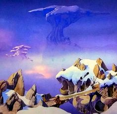 65 Ideas For Science Fiction Illustration Dean Ogorman Dean O'gorman, Roger Dean, Science Art, Science Fiction, Rock And Roll History, Syd Mead, Science Teacher Gifts, Sci Fi Environment, Beautiful Fantasy Art