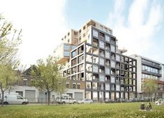 Wenlock Road Mixed-Use Development Proposal_HawkinsBrown Architects