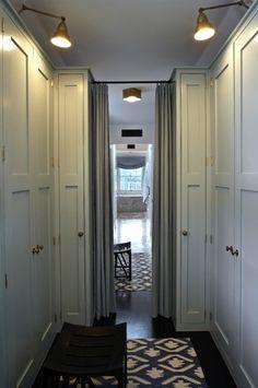 :: Havens South Designs :: likes this Kristin Panitch Designs closet passageway design