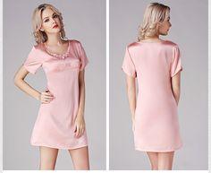 silk nightgowns petite silk pajamas silk nighties    https://www.snowbedding.com/
