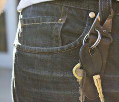 Military Key Chain, never lose keys again....yes please.