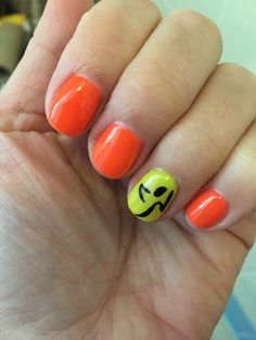 Zumba Nails!! China Glaze Japanese Koi & Celtic Sun https://www.facebook.com/shorthaircutstyles/posts/1760996237524149