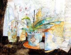 Small Sunshine, watercolour & graphite, 27 x 33 cm, by Shirley Trevena