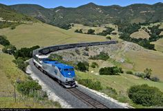 RailPictures.Net Photo: AMTK 10 Amtrak GE P42DC at San Luis Obispo, California by J.PO