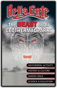 Rotorua geothermal attraction and Rotorua Spa - Hellsgate geothermal park and Mud Bath Spa