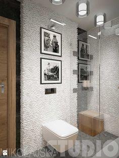 Zdjęcie: Łazienka w białym kamieniu - Łazienka - Styl Kolonialny - MIKOŁAJSKAstudio