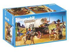Jeu de construction PLAYMOBIL (2013) 5248 - Chariot avec cow-boys et bandits