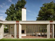 Subiaco House — Vokes and Peters Public Architecture, Australian Architecture, Residential Architecture, Interior Architecture, Outdoor Living, Outdoor Decor, Pergola, Cottage, Exterior