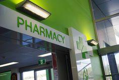 CHC Pharmacy Signage Coffs Harbour www.giantmedia.com.au