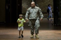Dreaded goodbye arrives as 155th departs for Kuwait #ArmyNationalGuard #RapidCity #military #Kuwait #Guard